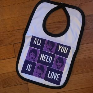 Other - All you need is love Beatles Bib! NWOT